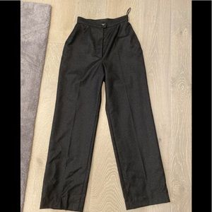 NWT Chanel Cashmere Wool Grey Pants 34